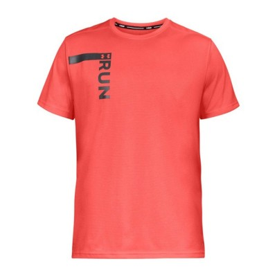 UNDER ARMOUR RUN TALL GRAPHIC SS 1324500 877 ΠΟΡΤΟΚΑΛΙ