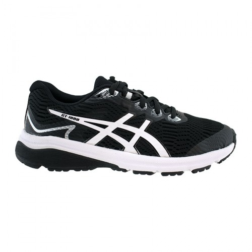 ASICS GT 100 8 GS 1014A068 001 BLACK WHITE