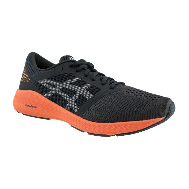 ASICS ROADHAWK FF T7D2N 9030 BLACK ORANGE