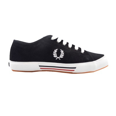 FRED PERRY VINTAGE B708 198 ΜΑΥΡΟ/ΛΕΥΚΟ