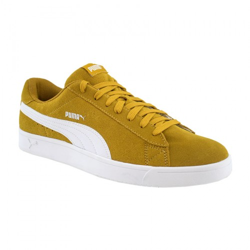 93d94e91a3d0 PUMA COURT BREAKER DERBY 367366 04 ΚΑΦΕ ΛΕΥΚΟ