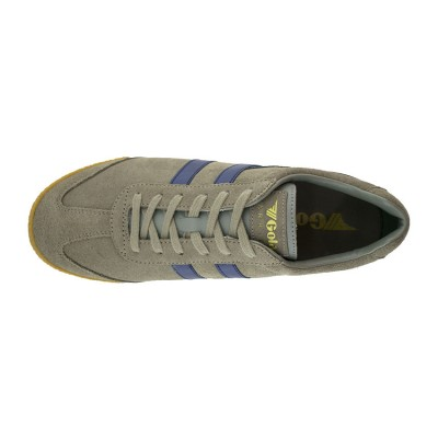 GOLA SUEDE LEATHER CMA192FL ΓΚΡΙ ΜΠΛΕ