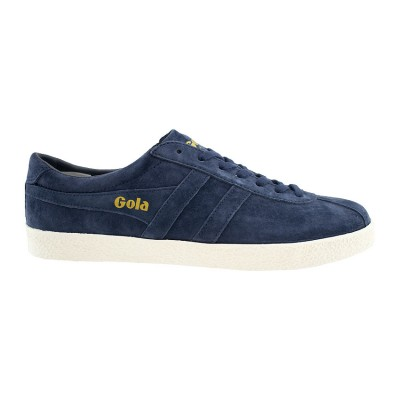 GOLA SUEDE LEATHER CMA558RH ΜΠΛΕ