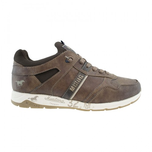 MUNSTANG LACE UP 4106-310 ΚΑΦΕ 360