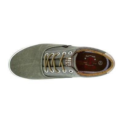 MUSTANG SNEAKERS CANVAS 4101301 777 ΧΑΚΙ
