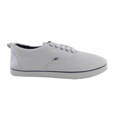 RUSSELL SHOES OXFORD CANVAS FW0311 ΛΕΥΚΟ