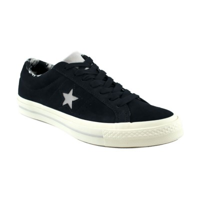 CONVERSE ONE STAR SUEDE TROPICAL FEET 160584C ΜΑΥΡΟ