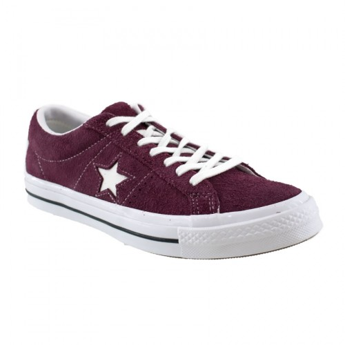 CONVERSE ONE STAR OG SUEDE 158370C BORDEAUX