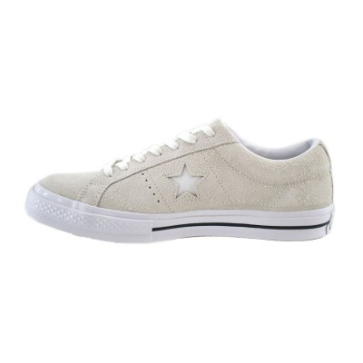 CONVERSE ONE STAR VINTAGE SUEDE LOW TOP 161577C ΓΚΡΙ