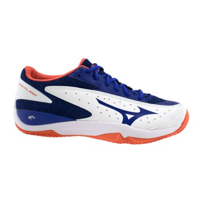 MIZUNO WAVE FLASH CC 61GC1922 27 ΜΠΛΕ ΛΕΥΚΟ