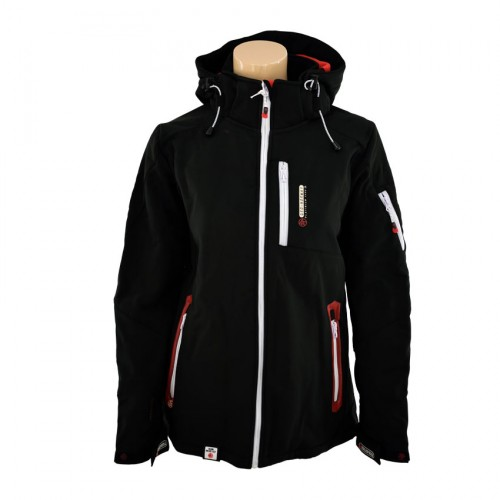 GEOGRAPHICAL NORWAY TEMPETE JACKET WN68F ΜΑΥΡΟ f6fce348e98