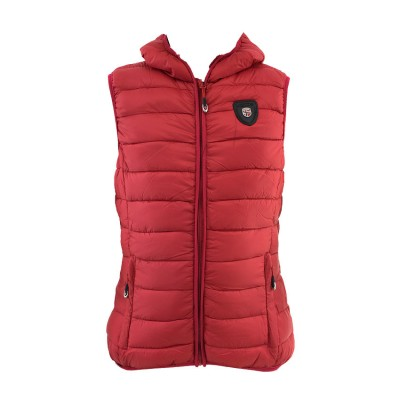 GEOGRAPHICAL NORWAY VOLANTIS VEST JACKET WQ737F GN ΚΟΚΚΙΝΟ