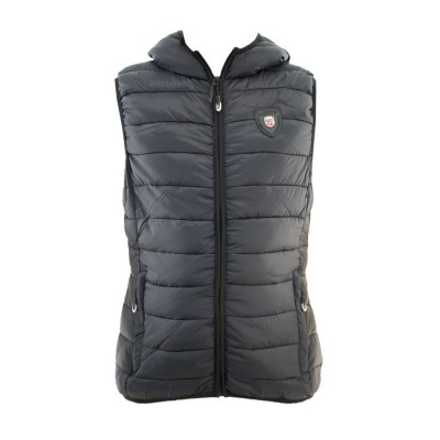 GEOGRAPHICAL NORWAY VOLANTIS VEST JACKET WQ737F GN ΜΑΥΡΟ