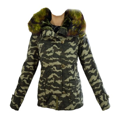 TOXIK FASHION JACKET PARKA 1396VB  ARMY ΠΑΡΑΛΑΓΗΣ
