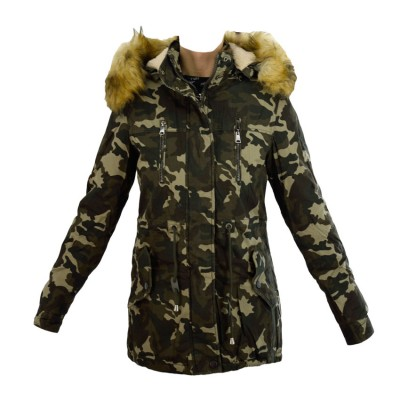 TOXIK JACKET FASHION PARKA RX88028 ARMY ΠΑΡΑΛΑΓΗΣ
