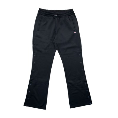 CHAMPION BELL BOTTOM PANTS 111940 KK001 ΜΑΥΡΟ