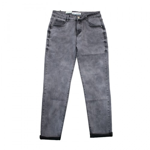 SIMPLY CHIC PANTS GEANS Q1806 GREY JEAN