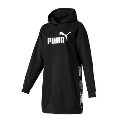 PUMA AMPLIFIED DRESS 580474 01 ΜΑΥΡΟ