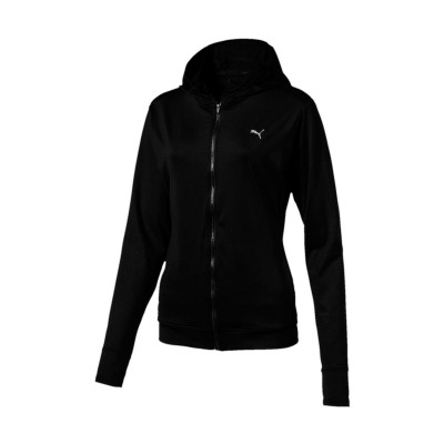 PUMA ESSENTIAL JACKET 515678 01 ΜΑΥΡΟ