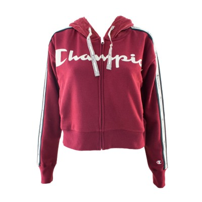 CHAMPION HOOD FULL ZIP 111918 RS505 ΜΠΟΡΝΤΟ
