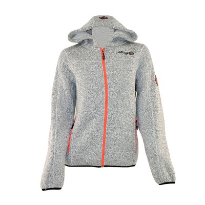 GEOGRAPHICAL NORWAY JACKET TORCHE FUR WP721F ΓΚΡΙ ΠΟΡΤΟΚΑΛΙ