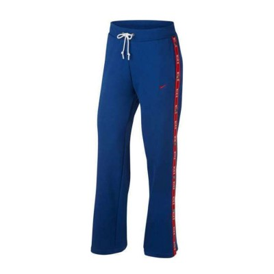 NIKE W NSW PANT LOGO TAPE POPPER AR9841 438 ΜΠΛΕ