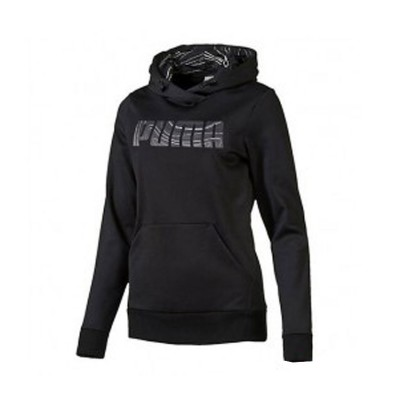 PUMA ELEVATED POLY HOODIE 838470 01 ΜΑΥΡΟ