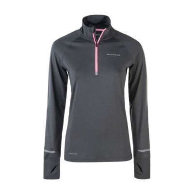 ENDURANCE PERFORMANCE MELANGE MIDLAYER E171322 ΜΑΥΡΟ