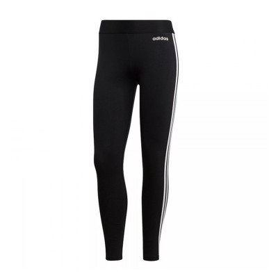 ADIDAS ESSENTIALS 3 STRIPES TIGHTS DP2389 ΜΑΥΡΟ ΛΕΥΚΟ