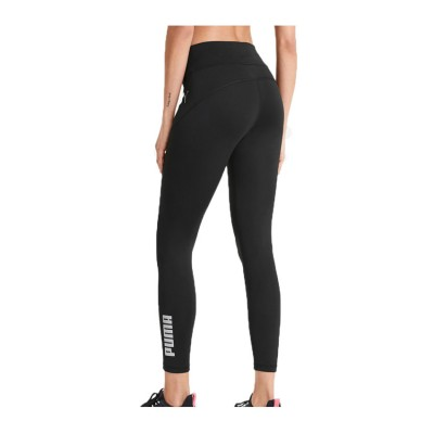 PUMA 7/8 RTG LOGO TIGHTS 581482 01 ΜΑΥΡΟ