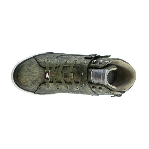MUNSTANG WOMEN BOOTS 1146-523 OLIVE 77