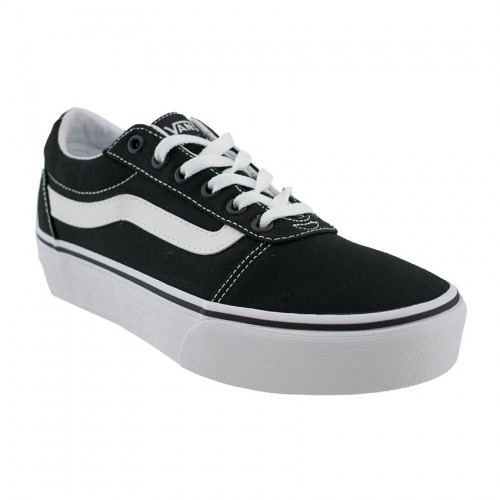 VANS OLD SKOOL WARD PLATFORM VN 0A3TLC187 ΜΑΥΡΟ ΛΕΥΚΟ