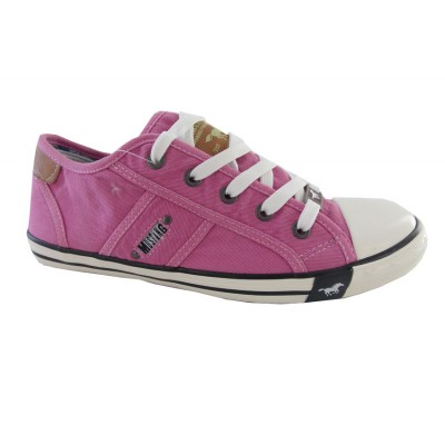 MUSTANG CANVAS SHOES 1099302 FOUXIA ΦΟΥΞΙΑ