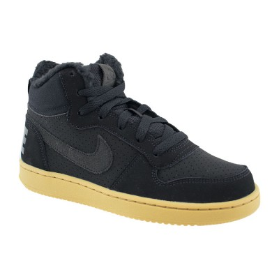 NIKE COURT BOROUGH MID WINTER AA3458 002 ΜΑΥΡΟ