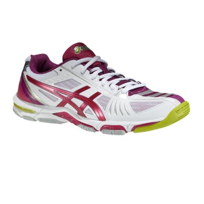 ASICS GEL VOLLEY ELITE 2 B351N 0125 ΛΕΥΚΟ ΦΟΥΞΙΑ