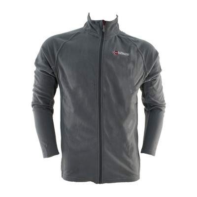 GEOGRAPHICAL NORWAY TUG FULL ZIP SQ315H ΓΚΡΙ