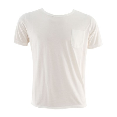 SANTANA T SHIRT POCKET ON CHEST SBB 1 24 WHITE