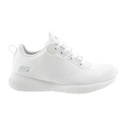 SKECHERS BOBS SQUAD TOUGH TALK 32504 WHT