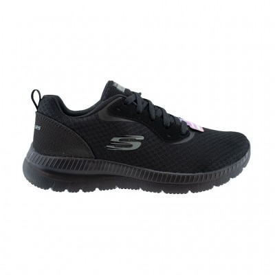 SKECHERS MESH LACE UP 12606 BBK