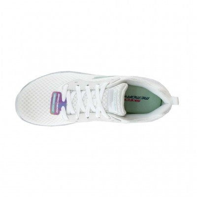 SKECHERS MESH LACE UP 12606 WSL