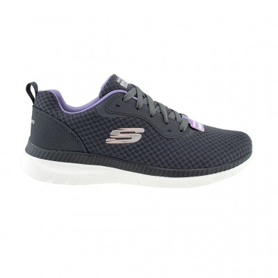 SKECHERS MESH LACE UP 12606-CCLV