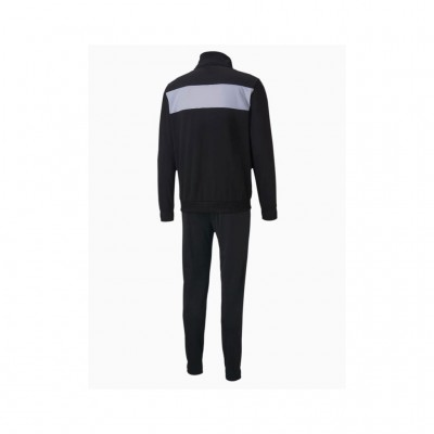 PUMA TECHSTRIP TRICOT SUITE 583602 01 ΜΑΥΡΟ ΛΕΥΚΟ