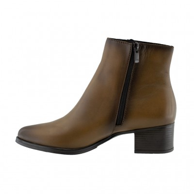 RAGAZZA LEATHER BOOTS 0141 ΤΑΜΠΑ