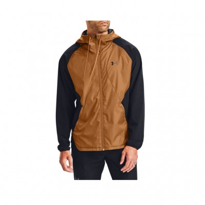 UNDER ARMOUR STRETCH WOVEN FULL ZIP JACKET 1352021 002