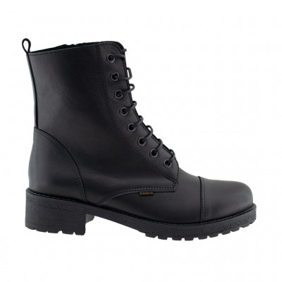 RAGAZZA BOOTS LEATHER 0266 ΜΑΥΡΟ