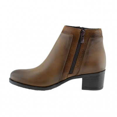RAGAZZA LEATHER BOOTS 0362 ΤΑΜΠΑ