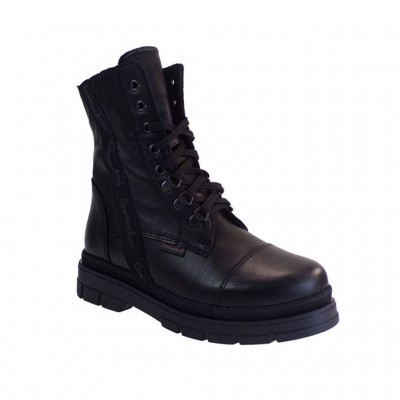COMMANCHERO BOOTS LEATHER 5625 721 ΜΑΥΡΟ