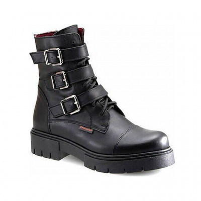 COMMANCHERO BOOTS LEATHER 5633 721 ΜΑΥΡΟ
