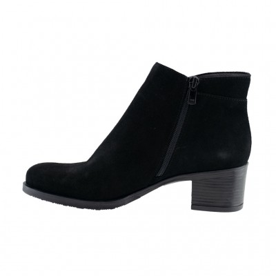 RAGAZZA BOOTS LEATHER 0373 ΜΑΥΡΟ