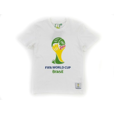 T/S FIFA 2014 MUNDIAL BRAZIL 95064 ΛΕΥΚΟ